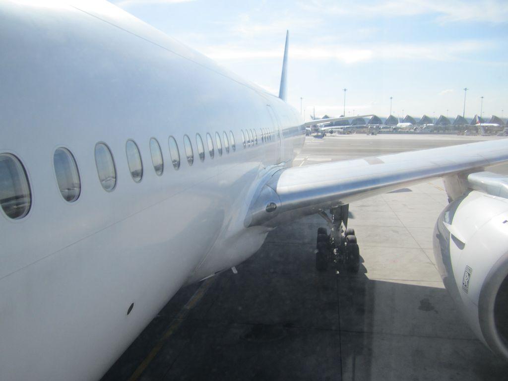 Самолет Боинг-77-300 Тайских авиалиний