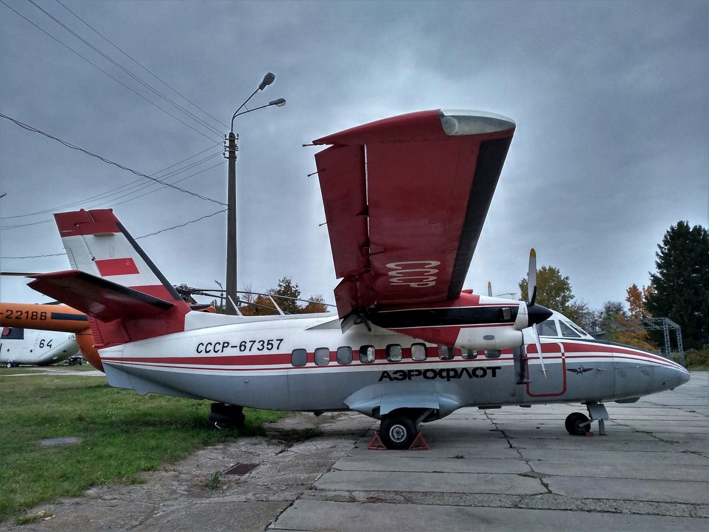 Самолет Л-410 СССР-67357 в Государственном музее авиации Украины