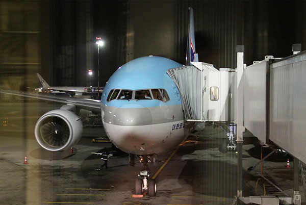 Korean Air: Moscow-Seoul, Seoul-Jeju Province