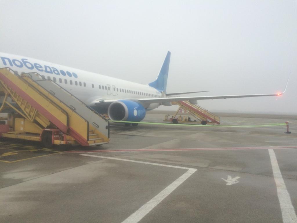 Из Вены через Братиславу в Москву (Внуково) с Победой