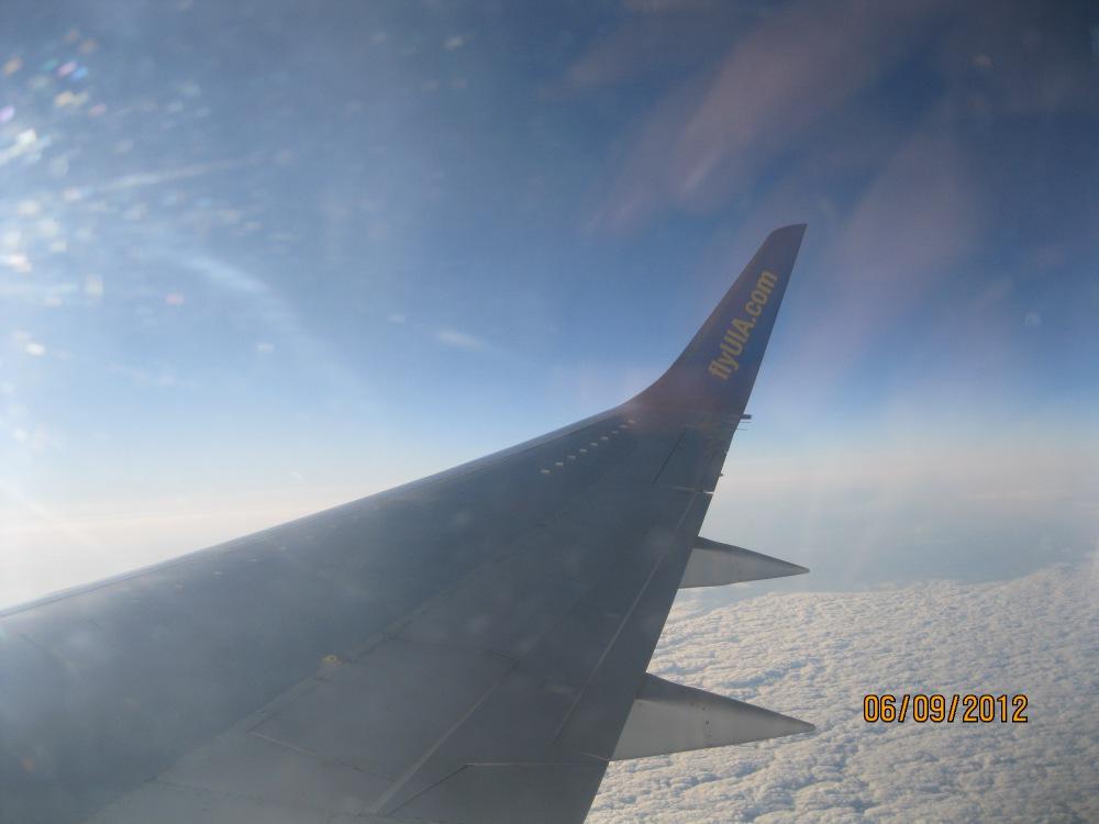 Рейс Киев-Москва Международных авиалиний Украины