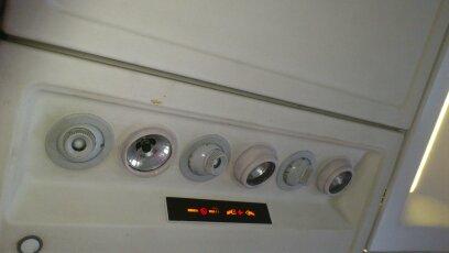 Салон самолета Ту-204-300 авиакомпании Владивосток Авиа