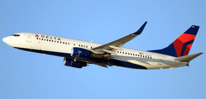 Боинг-737-800 авиакомпании Delta Airl Lines