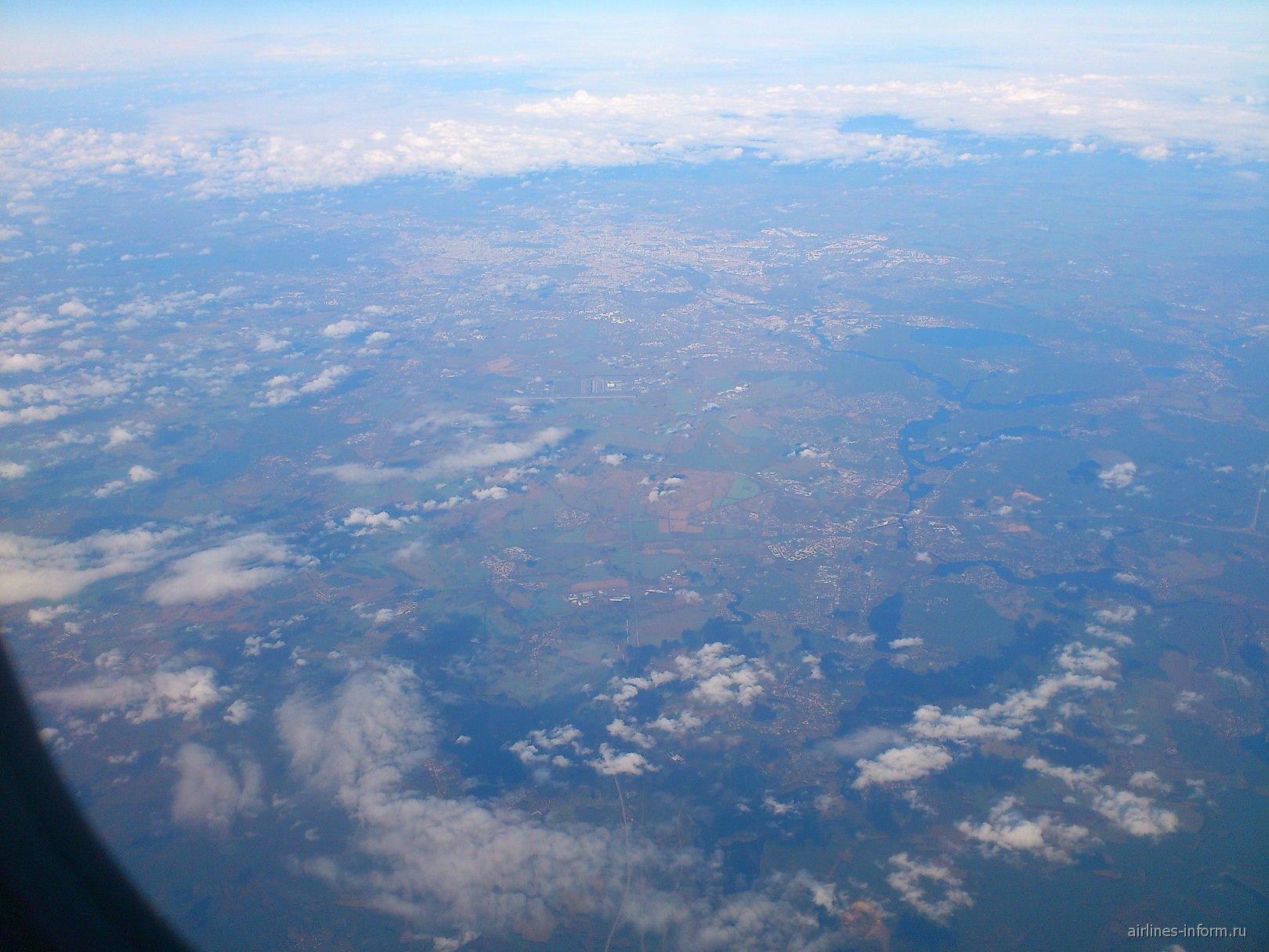 В полете над Европой
