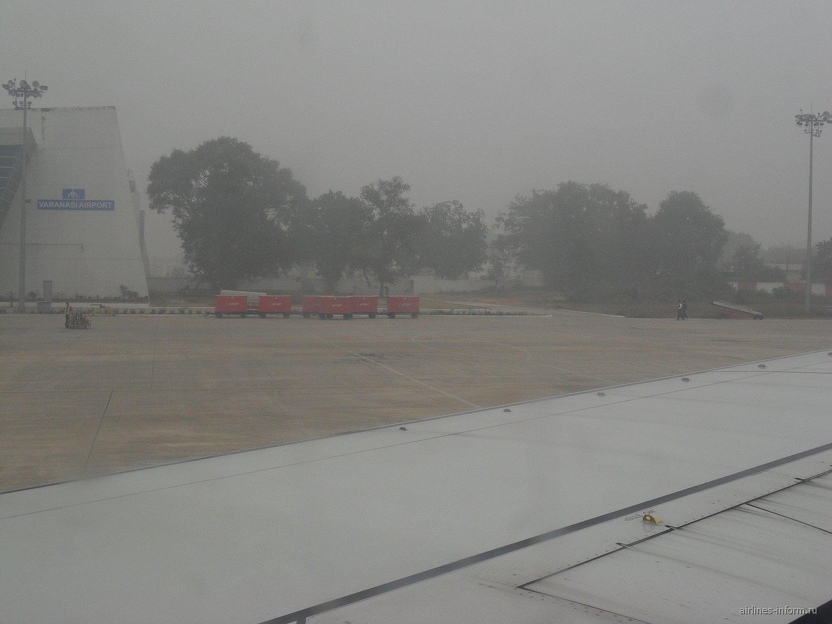 В аэропорту Варанаси