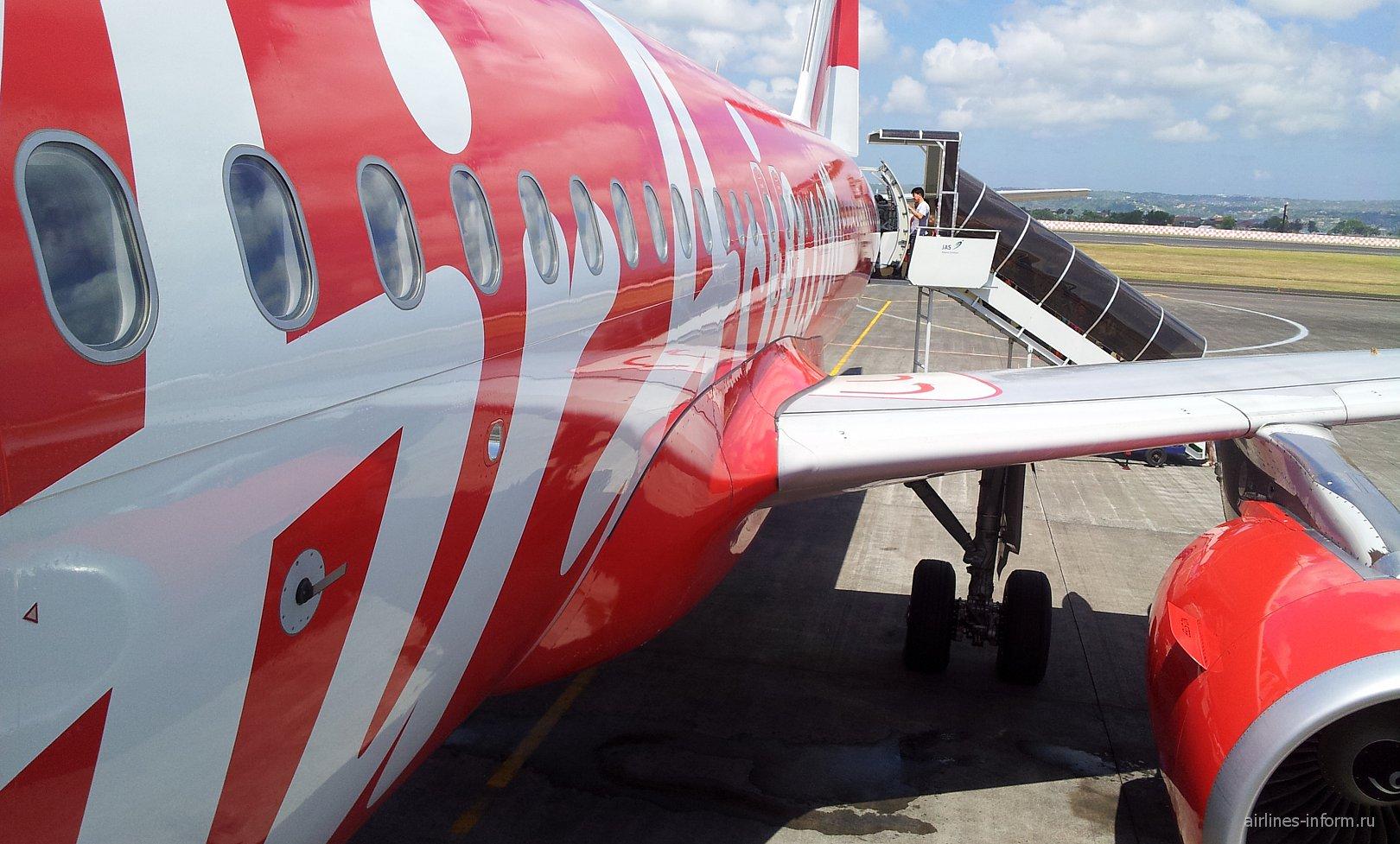 Посадка на А-320