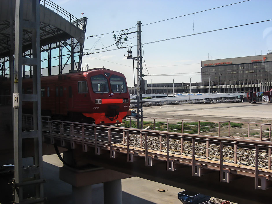Aeroexpress train to Moscow Sheremetyevo Airport