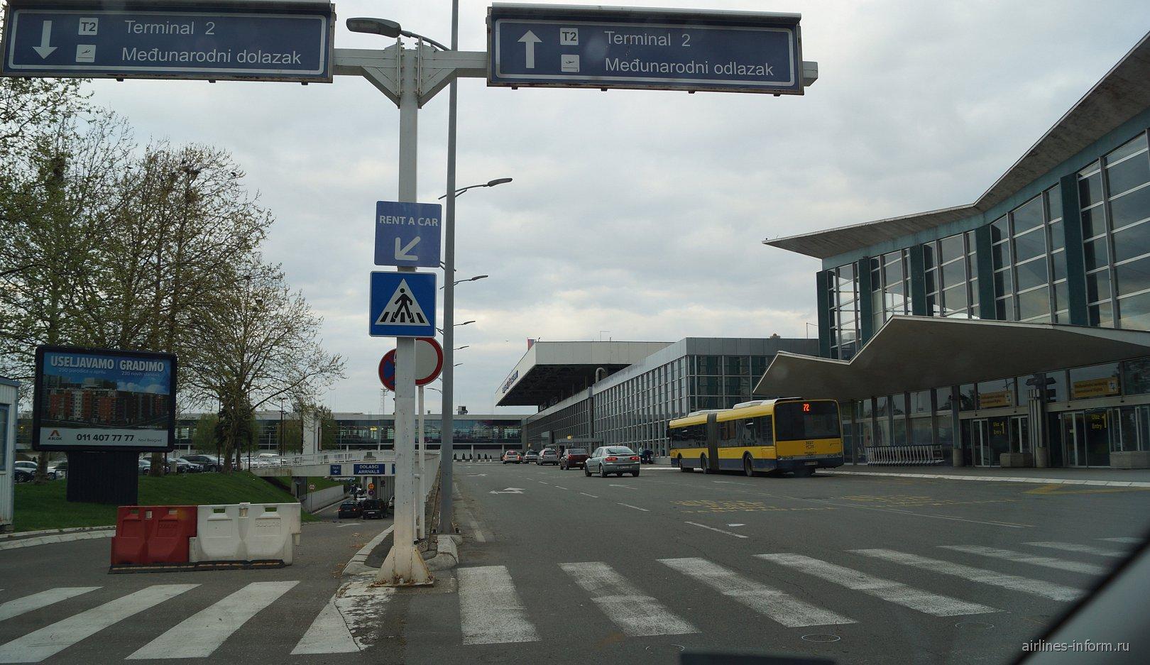 Пассажирские терминалы аэропорта Белград Никола Тесла