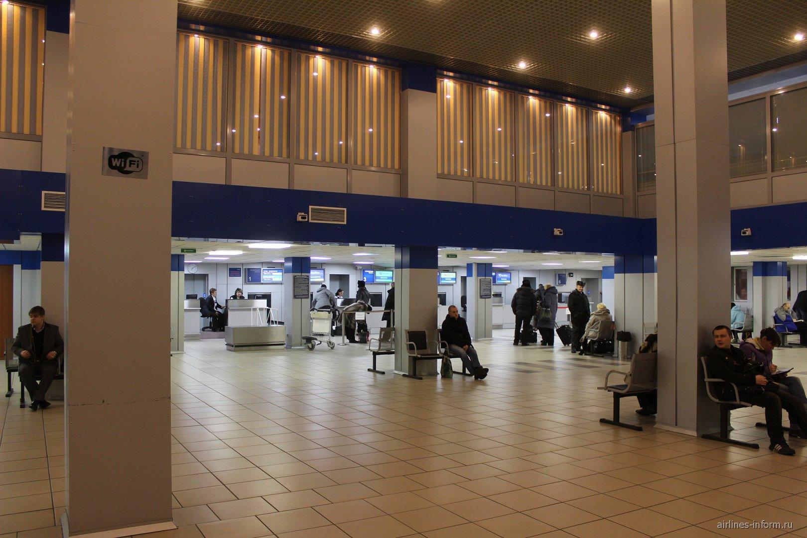 Стойки регистрации в аэропорту Норильск Алыкель