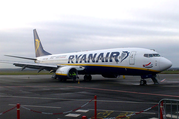 Paris-Beauvais to Vilnius with Ryanair