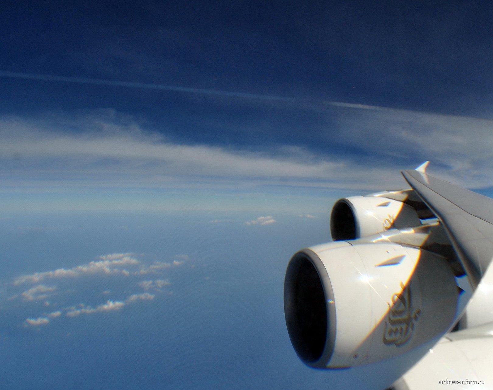 С Emirates в Страну Улыбок. Часть 3. BKK-DXB на Airbus A380-800 A6-EDX