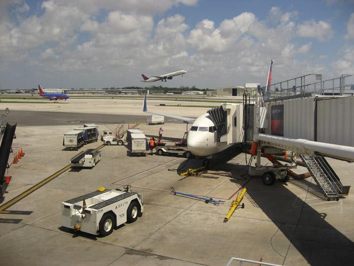 Полет на Delta Air Lines внутри США