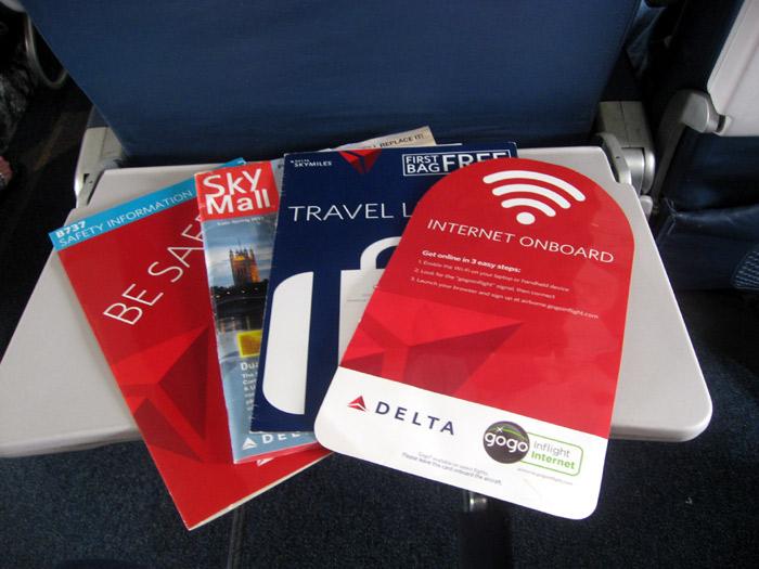 Бортовые журналы авиакомпании Delta Airl Lines