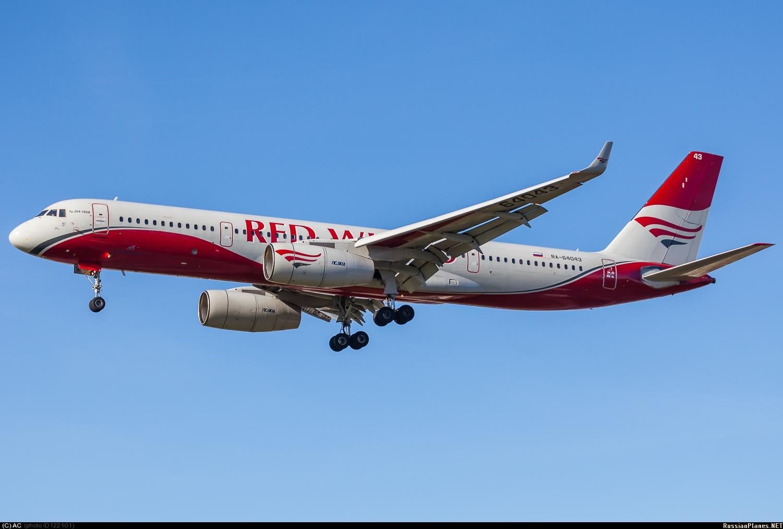 Авиакомпанией Red Wings в Анталью