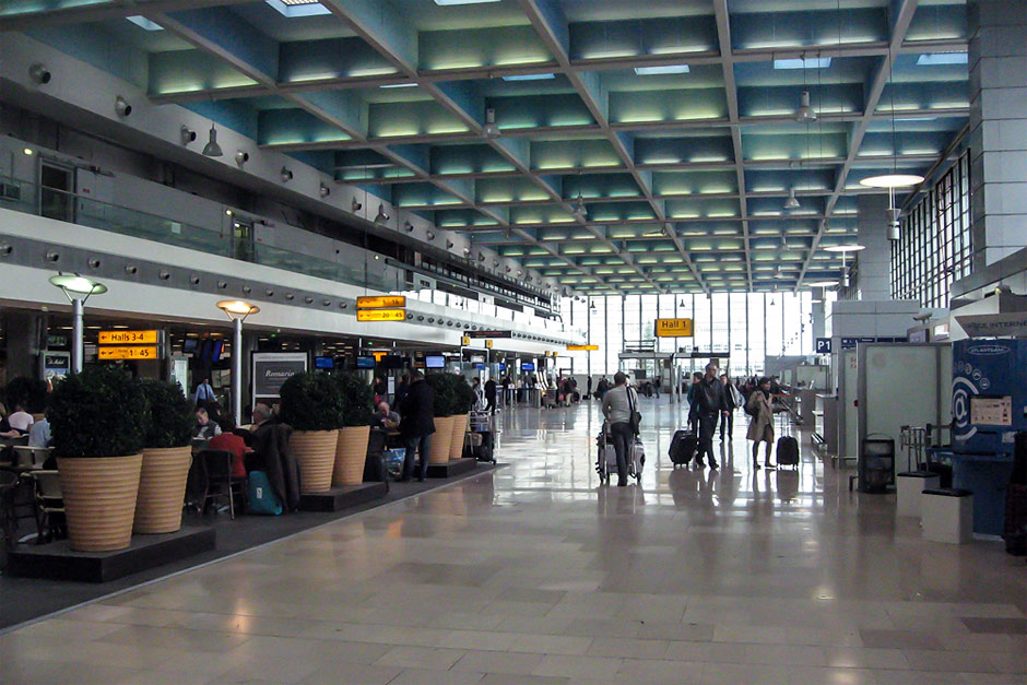 Hall 1 of the Marseille Provence Airport