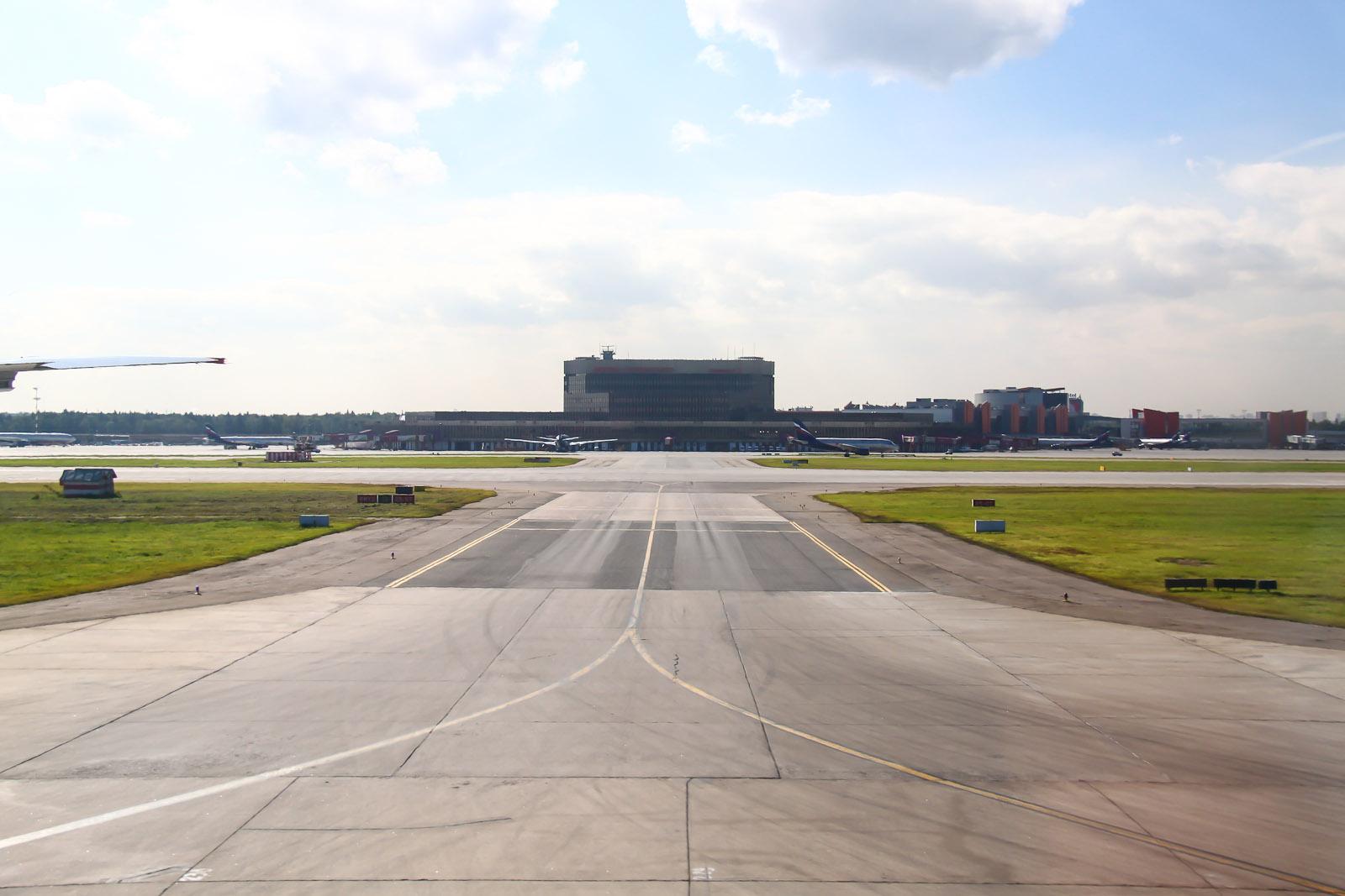 Терминал F аэропорта Шереметьево