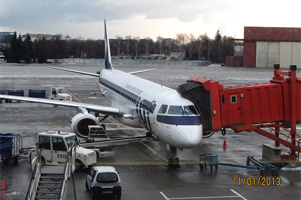 Paris-Warsaw-Moscow with LOT Polish Airlines