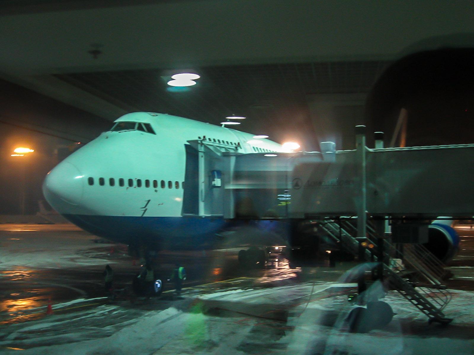 Рейс Трансаэро Пхукет-Москва прибыл в аэропорт Домодедово