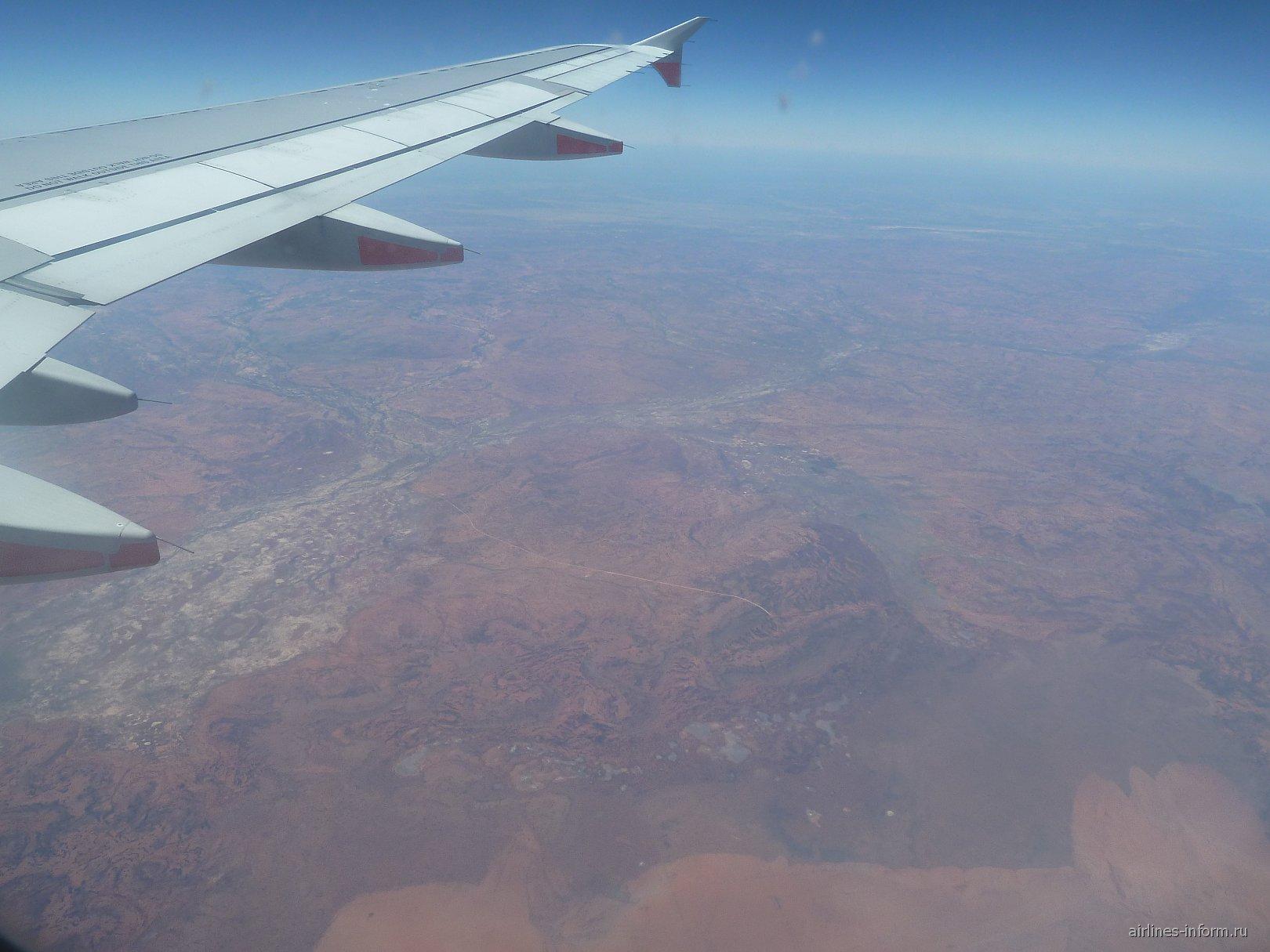 В полете над центральной Австралией
