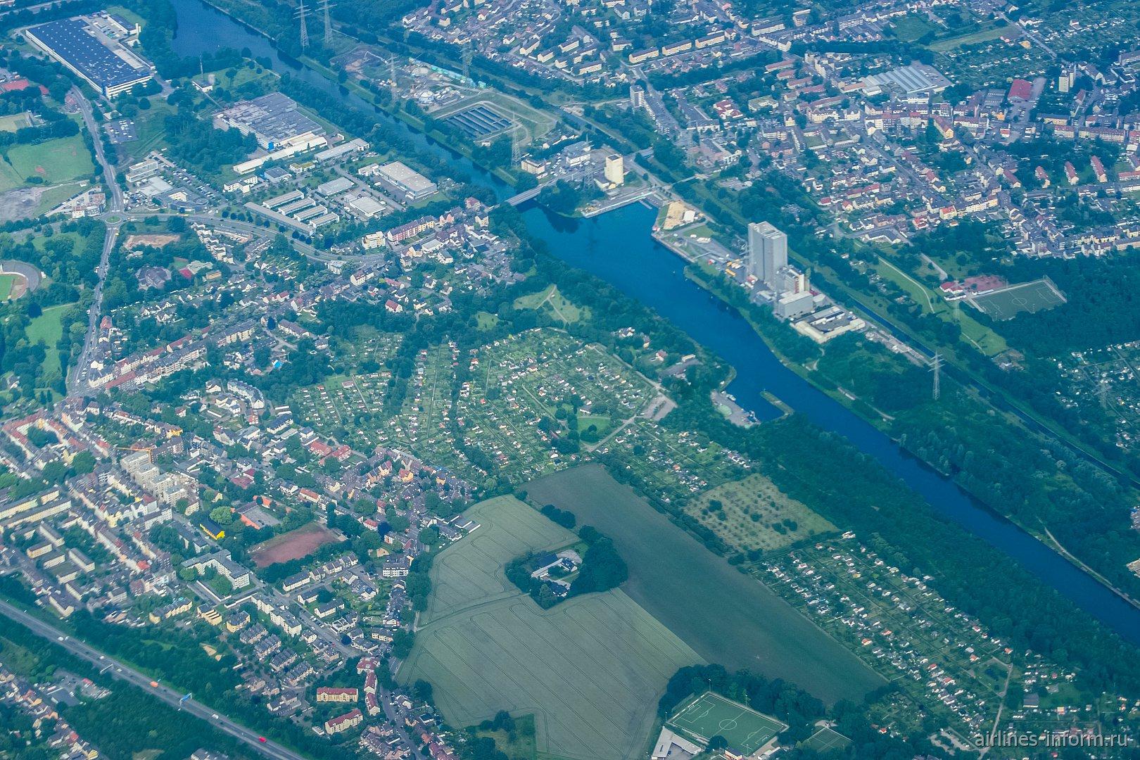 Река Рур в Германии