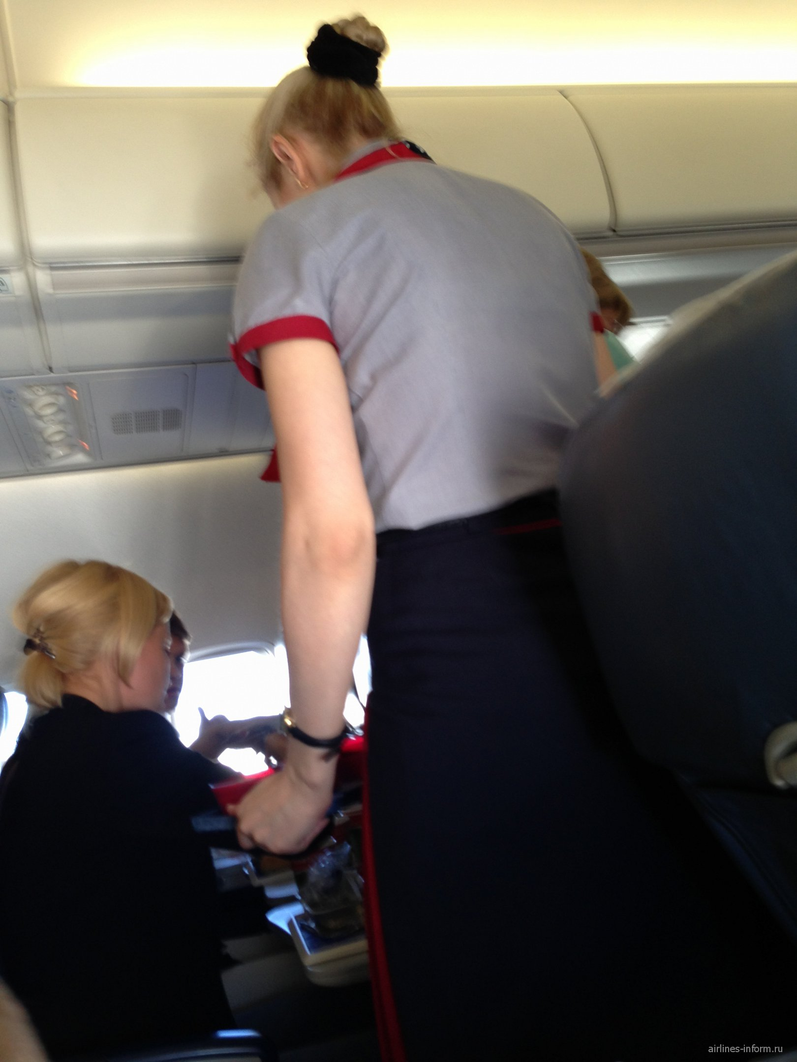 Рейс Москва-Родос авиакомпании Трансаэро
