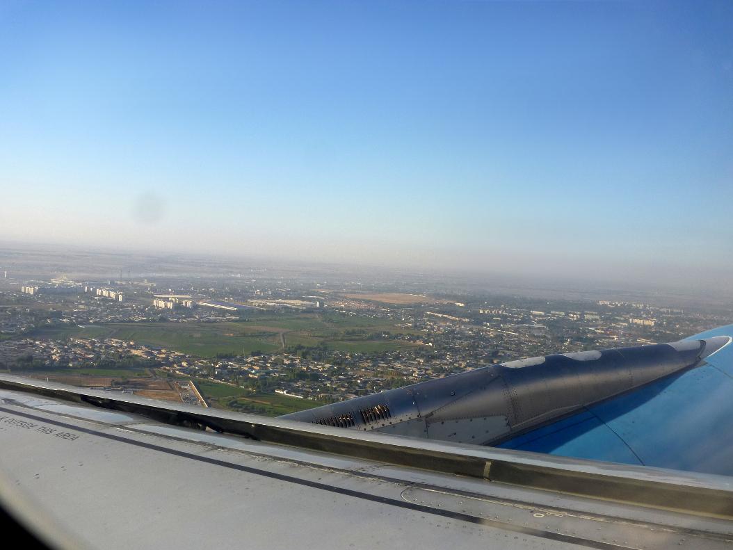 Tashkent-Samarkand flight