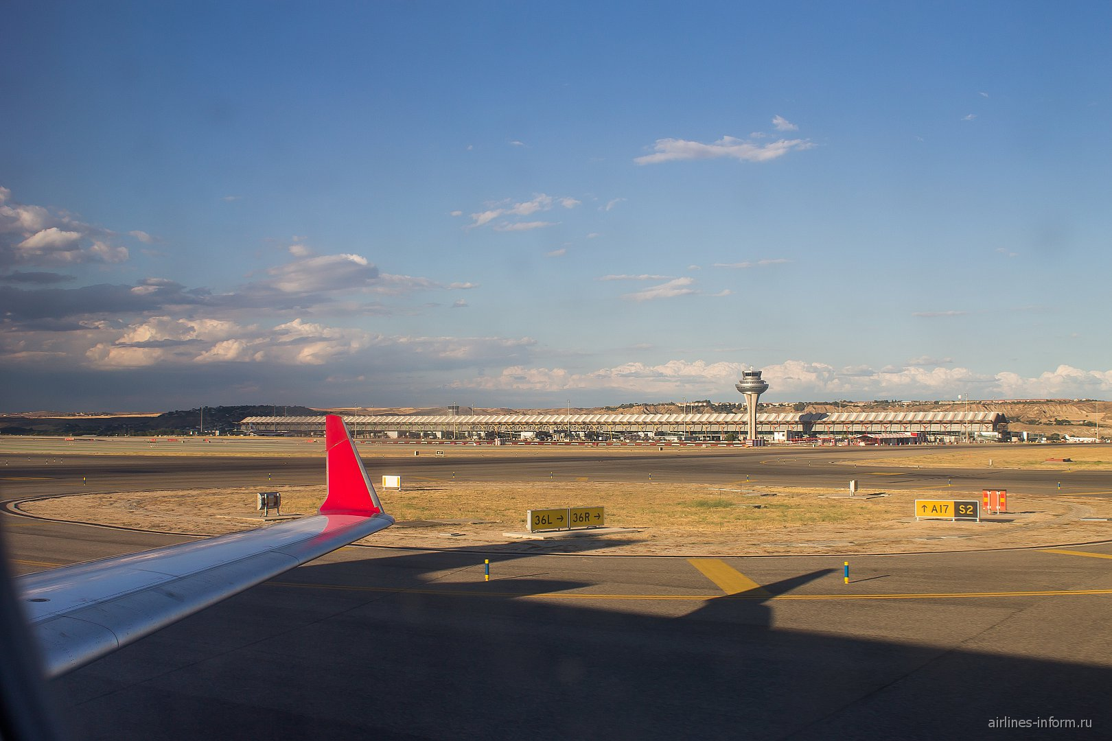 Терминал 4S аэропорта Мадрид Барахас