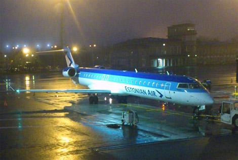 Estonian Air: Вильнюс - Таллинн