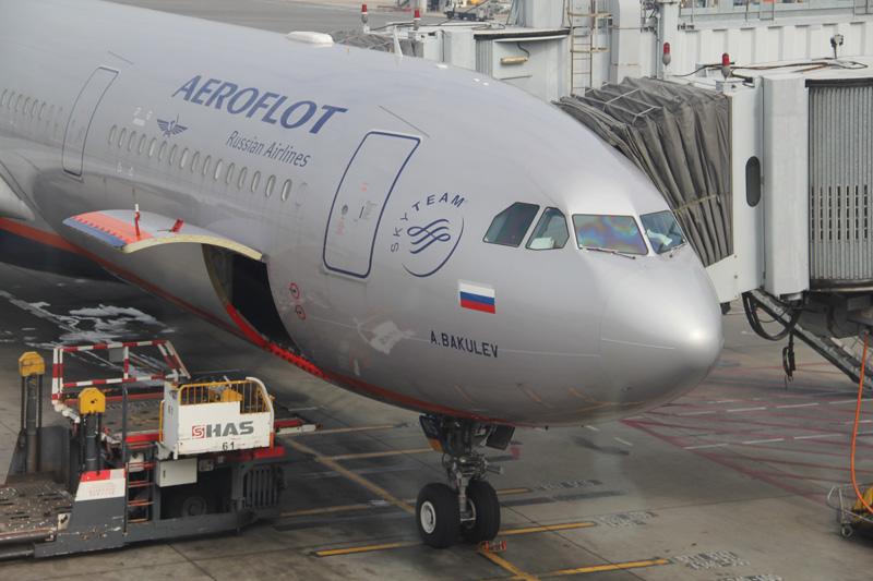 Рейсом Аэрофлота Гонконг-Москва