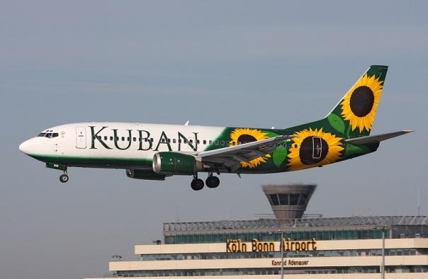 Боинг-737-300 авиакомпании Кубань