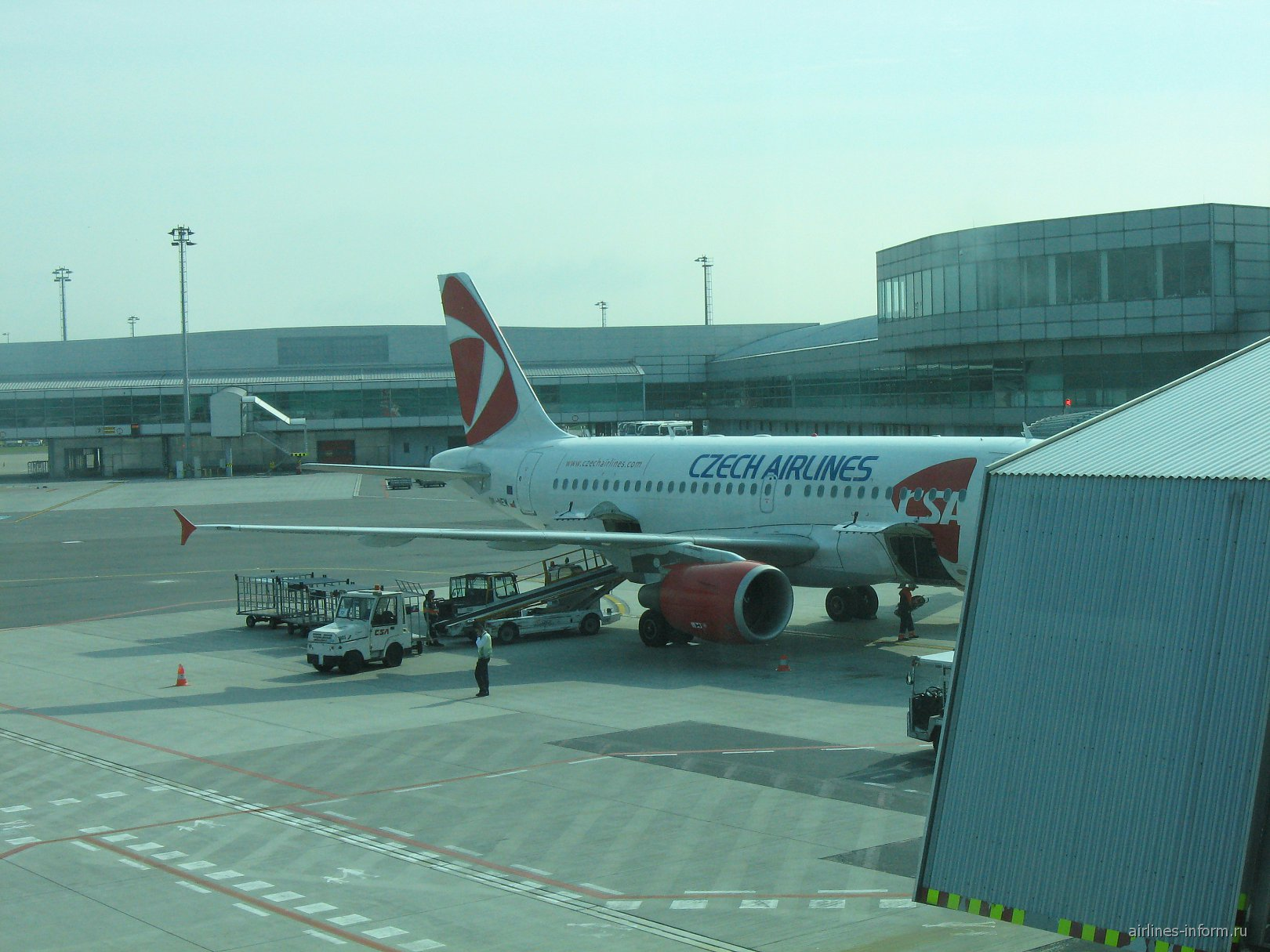 В аэропорту Праги