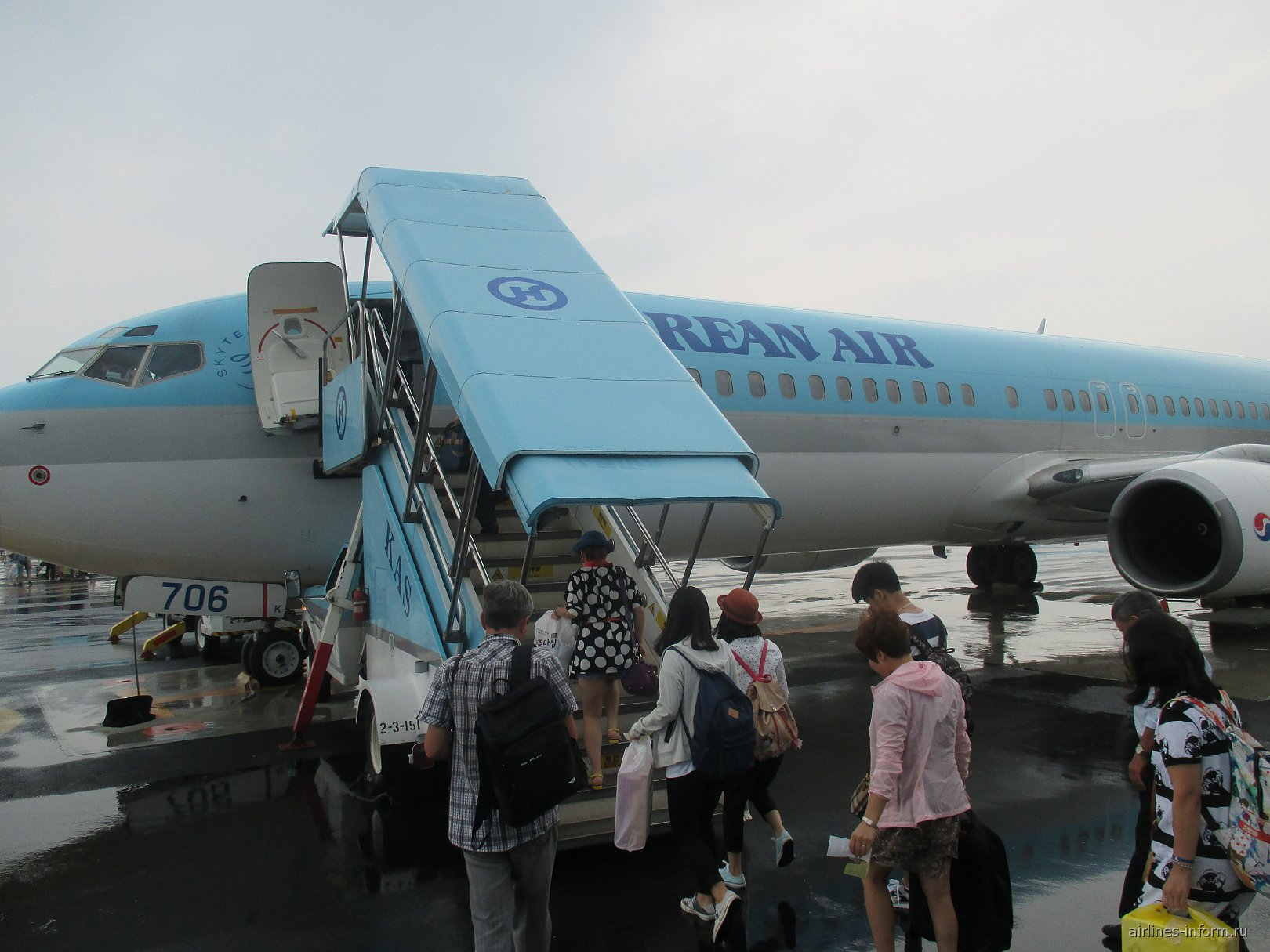 Отпуск в Корее. Часть 2 - Jeju - Seoul (Gimpo) c Korean Air на B-737-900
