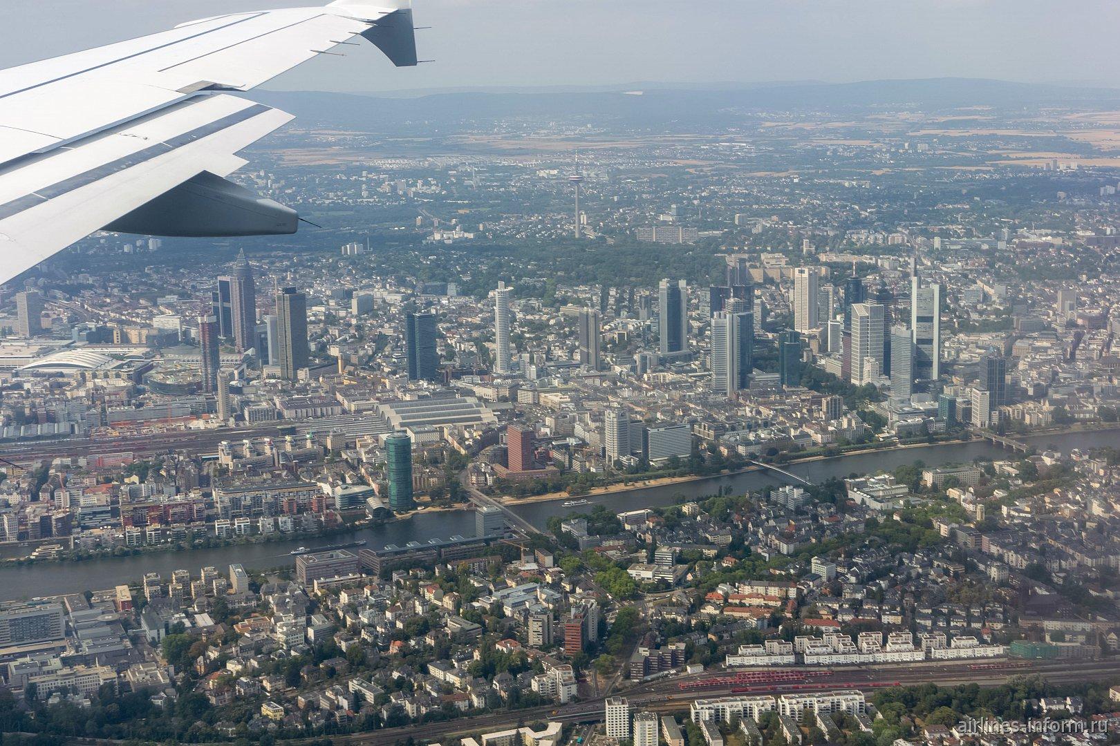 Центр города Франкфурт-на-Майне