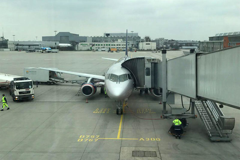 """Москва (SVO) - Дрезден (DRS) в бизнес-классе """"Аэрофлота"""" на SSJ-100"""