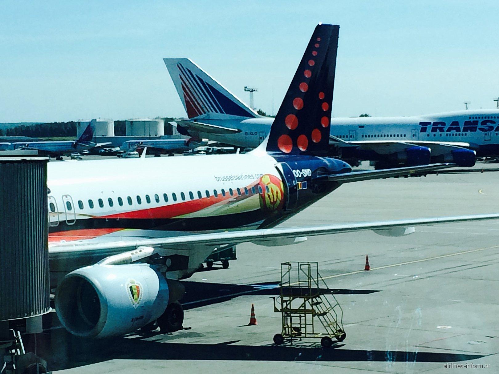 "Москва — Брюссель — Рим с ""Brussels airlines"""