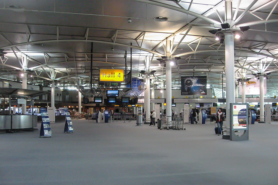 Hall 4 of the Marseille Provence Airport