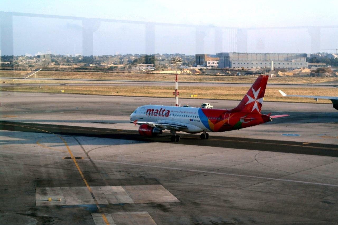 В аэропорту Мальта