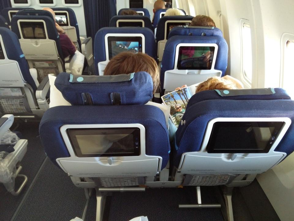 """""""Премиум-эконом"""" класс в самолете Боинг-767-300 авиакомпании Condor"""