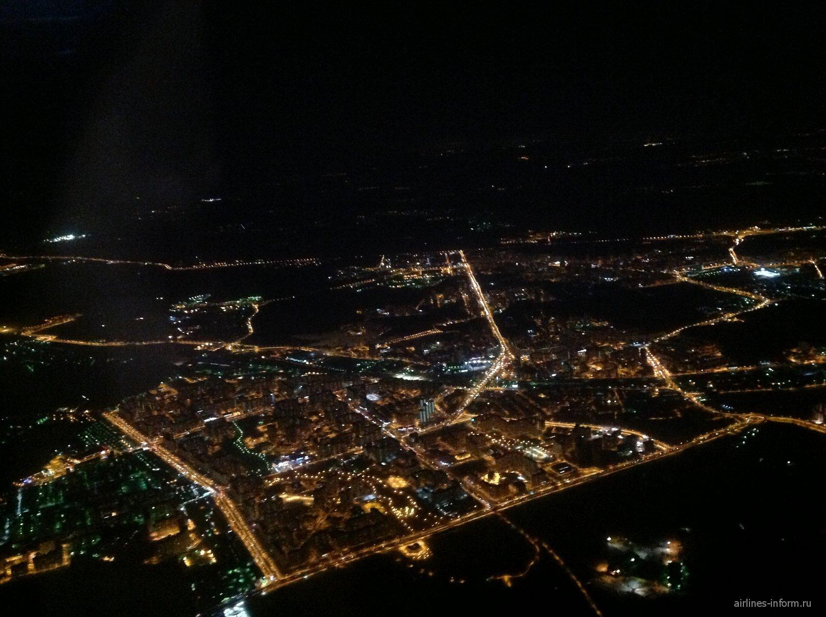 Ночное Подмосковье