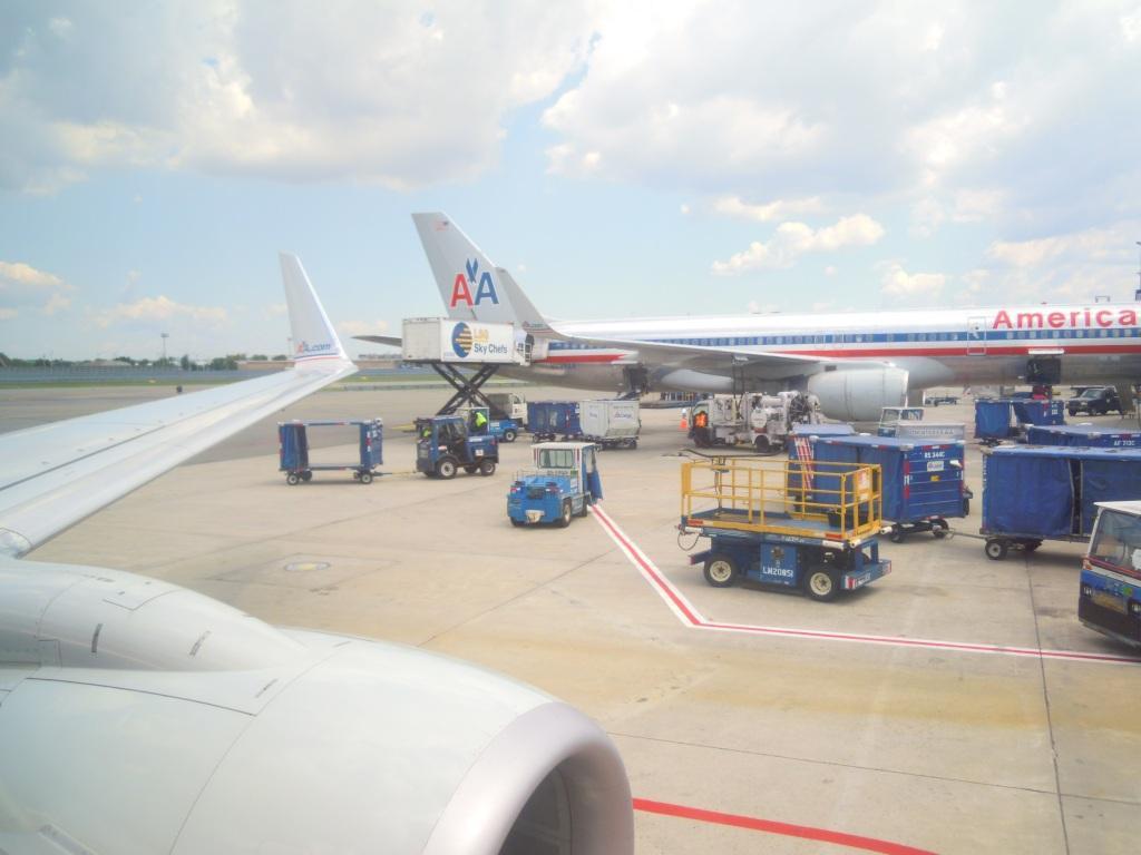 В аэропорту Джона Кеннеди в Нью-Йорке