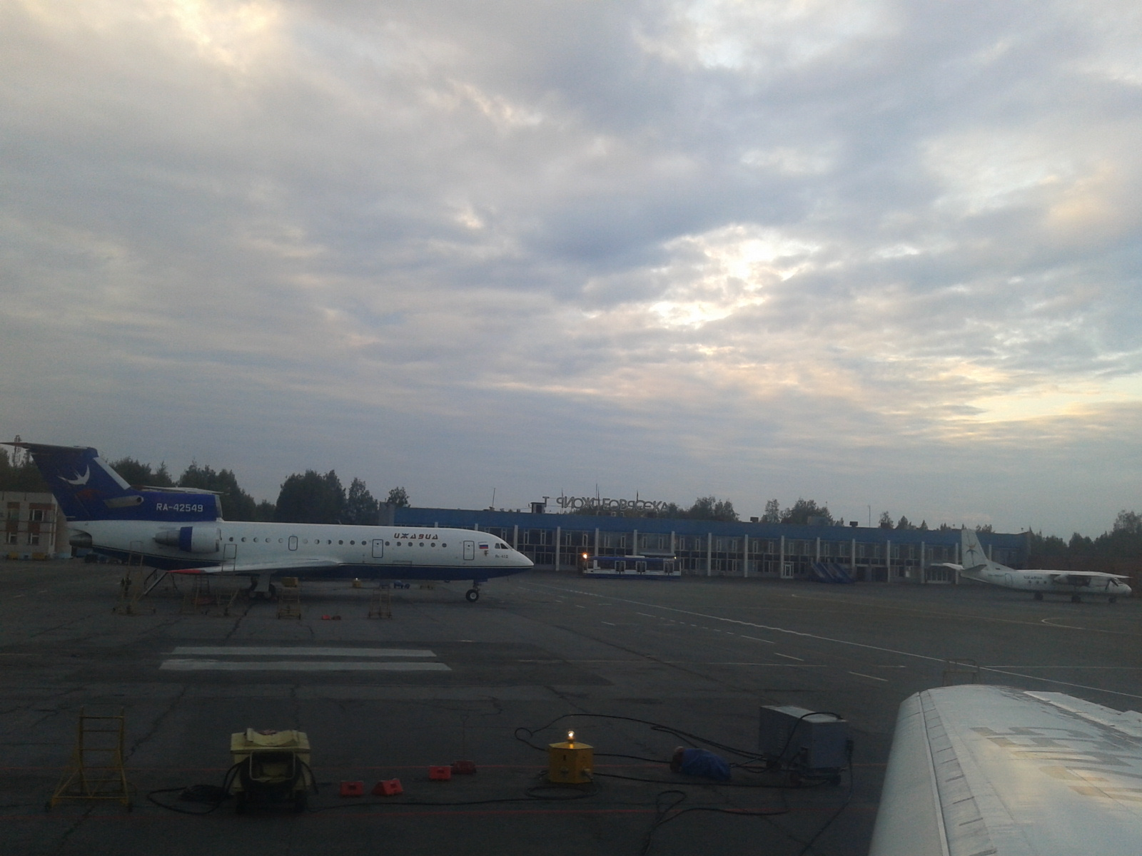 В аэропорту Ижевска