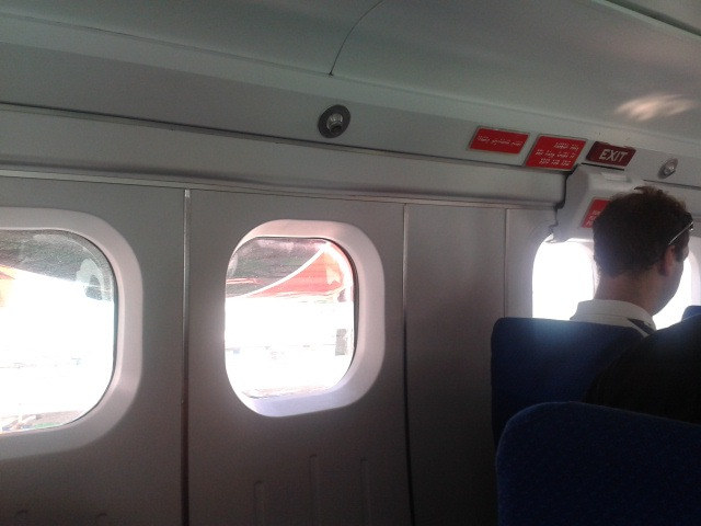 Cabin of DHC-6 Twin Otter of Maldivian Air Taxi