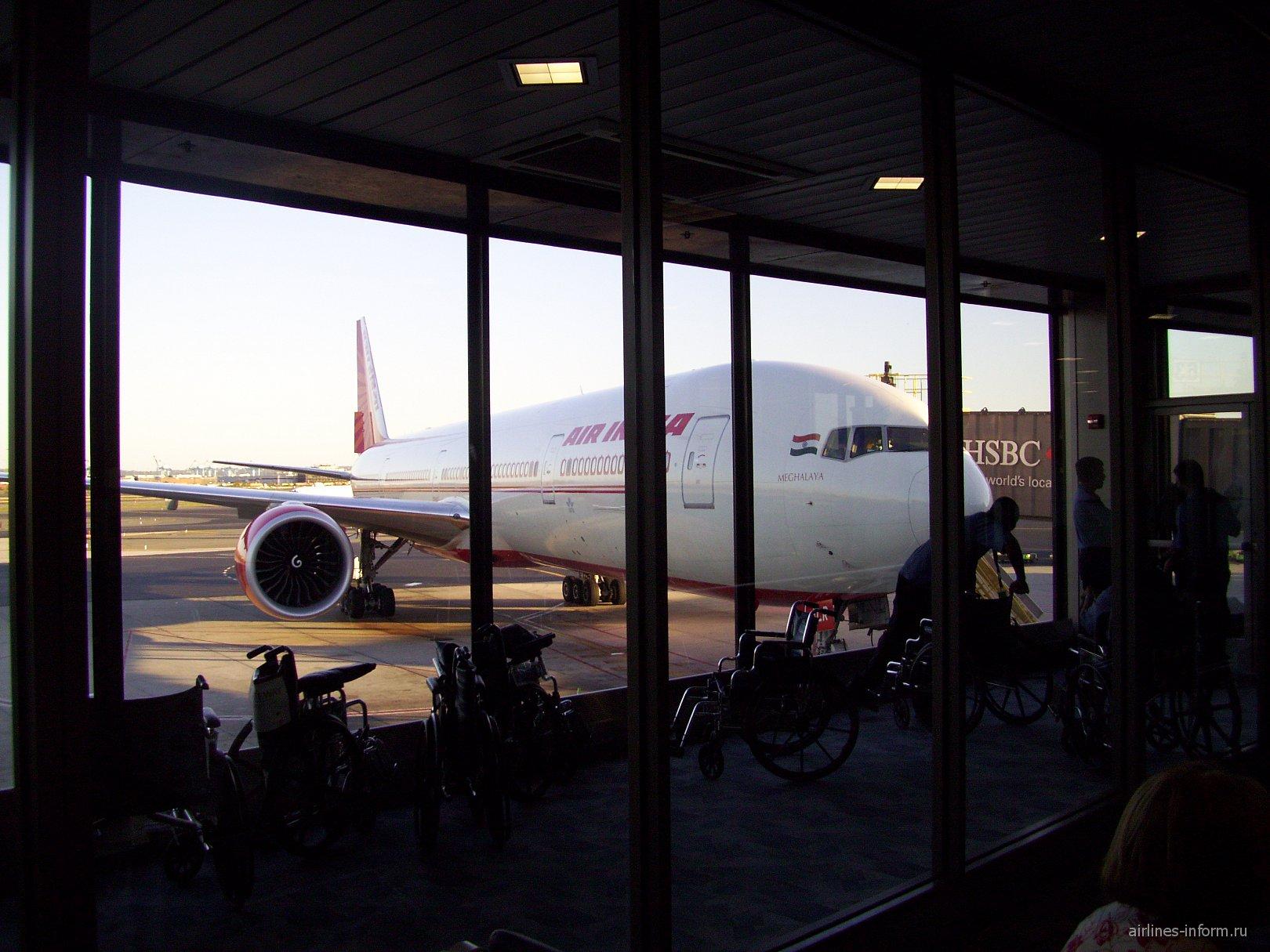 В аэропорту Ньюарк