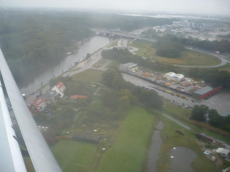 Посадка в Амстердаме