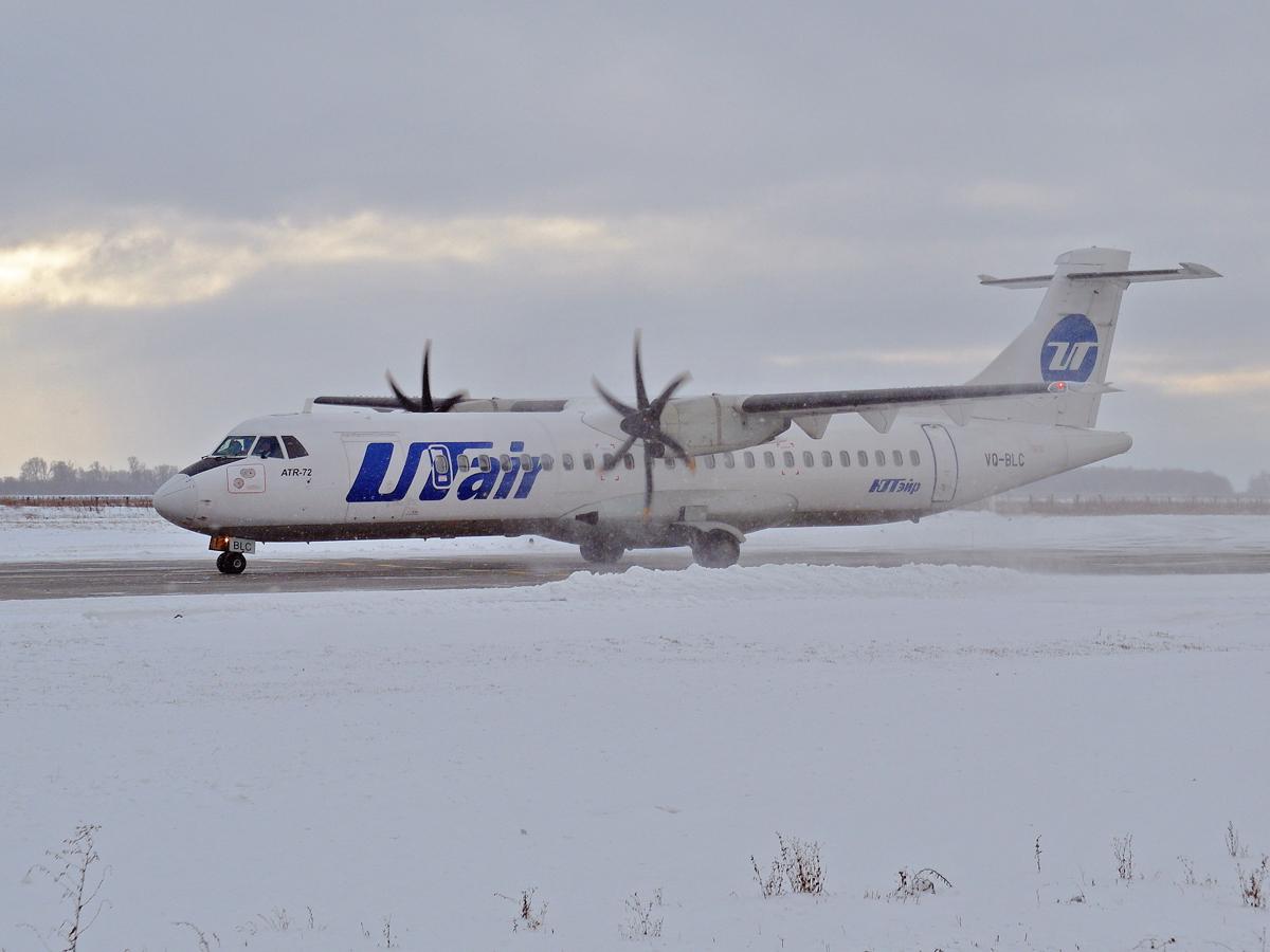 ATR-72 VQ-BLC авиакомпании UTair в аэропорту Уфа