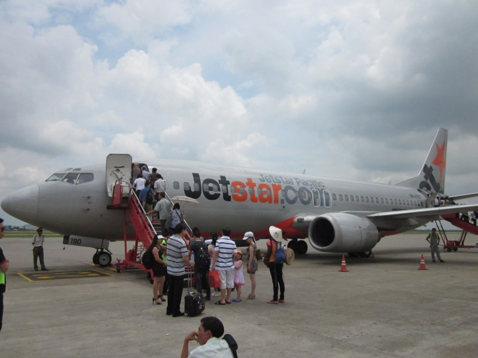 Boeing 737-400 of JetStar Pacific Airlines