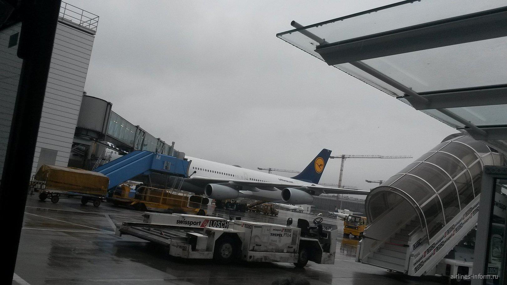 В аэропорту Мюнхена