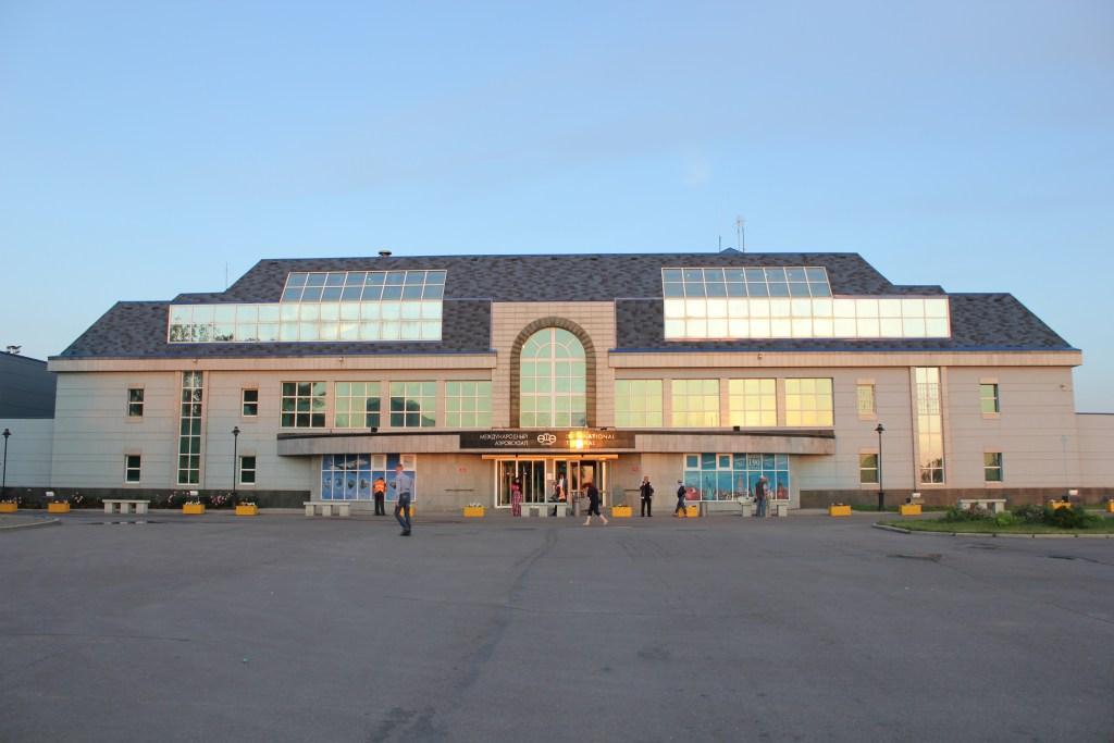 Терминал международных рейсов аэропорта Уфа