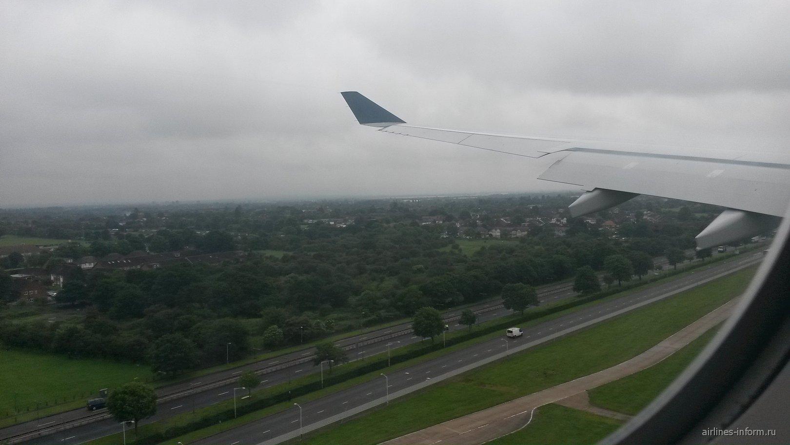 Рейс US Airways Филадельфия-Лондон