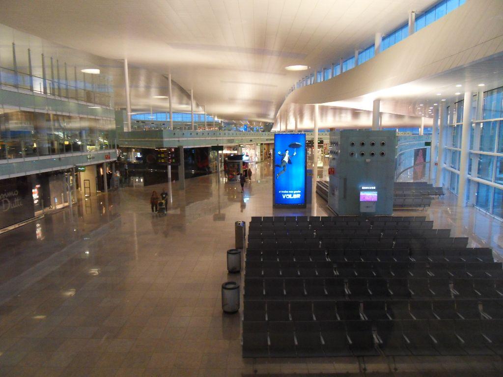 Залы ожидания в Терминал 1 аэропорта Барселоны